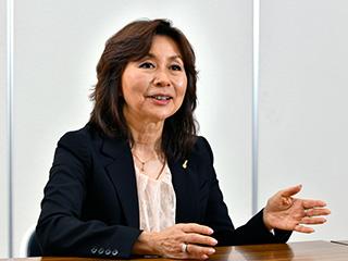 代表取締役社長・和久田 惠子氏