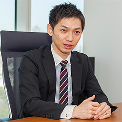 ▲執行役員 インダストリー事業本部・休坂 健志 氏