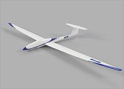 ▲カメラを搭載し、広域、長時間のデジタルスキャンを実現する固定翼型ドローン「OPTiM Hawk」
