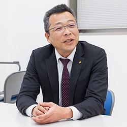 ▲総務部長・桐原 義浩氏