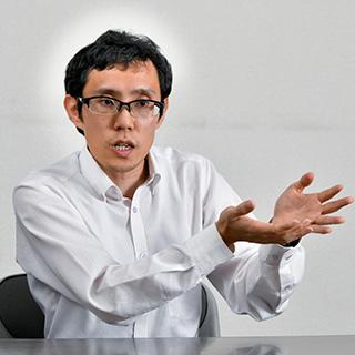 POP生産部 部長代理 兼 POPHD経営管理部 システム開発 河瀬 淳氏