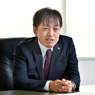 ▲総務部  総務経理グループ グループリーダー 山本 裕紀氏