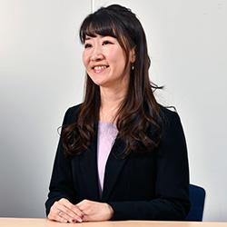 ▲お客さまコンタクトセンター部 コンタクト企画グループ 佐藤 史枝氏