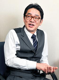 代表取締役 坂本 真一氏